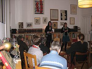 Grenzgaenger Salon, copyright Foto senta hoefer