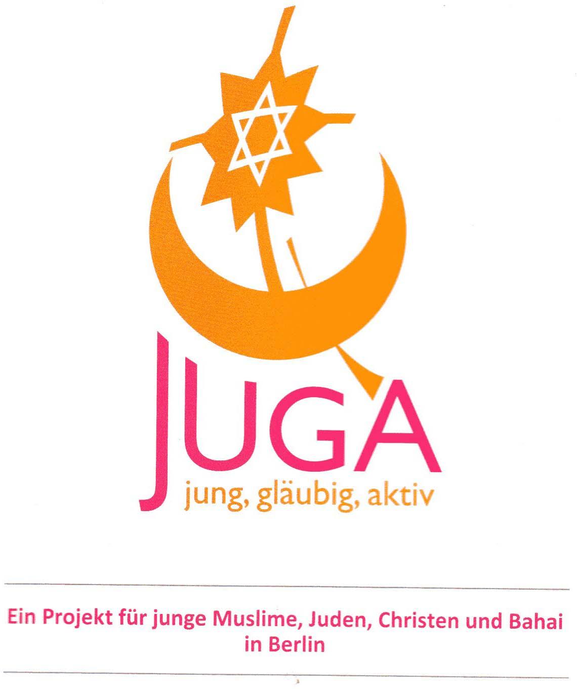 Symbol der Gruppe Juga (Jung, gläubig, aktiv) Copyright: Juga