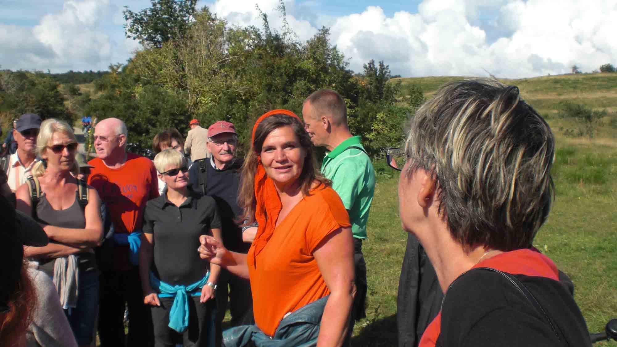"""""""Auf den Spuren der Künstler von Hiddensee"""" - Führung mit Ute Fritsch, Copyright: Cornelia Saxe"""